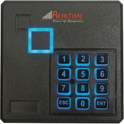 Card and Password Based Access Control