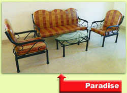 Paradise Wrought Iron Sofa Set