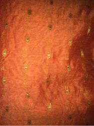 Chanderi Silk Fabric Damask Fabric