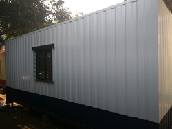 MS Prefabricated Sheds
