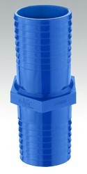 Blue Polypropylene PP Pipe Jointer, for Domestic & Agriculture, for Structure Pipe