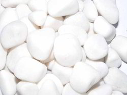 Tumbled White Quartz Pebbles