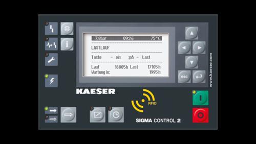 compressor controller sigma control 2 kaeser compressors. Black Bedroom Furniture Sets. Home Design Ideas