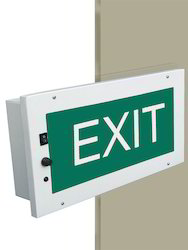Recess Mounted Exit Signages