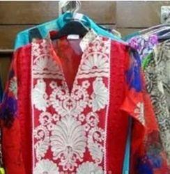 Retailer of Designer Check Kurti & Printed Kurti by Rani Boutique