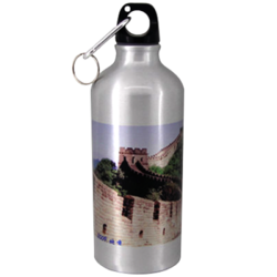 600ml Sublimation Silver Water Bottle