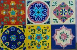 Glossy, Matt Square Antique Designer Tile, for Wall, Floor