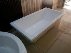 White Plain Tub 66x33 inch