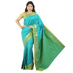 Embose Art Silk Fancy Sarees
