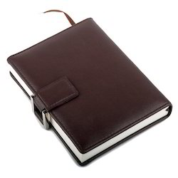 Jainex Corporate Gifts Brown Leather-Diary