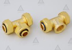 Brass Pex Fittings  Tee
