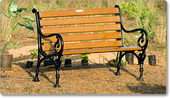 Awesome Weatherproof Garden Bench Pabps2019 Chair Design Images Pabps2019Com