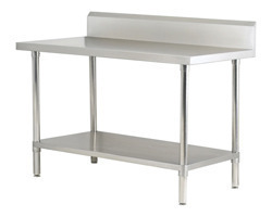 Work Table with Undershelf
