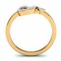 Women Gold Diamonds Ring