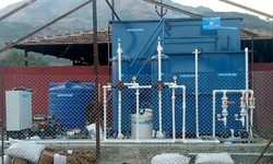 Prefabricated Package Type MBBR Sewage Treatment Plant