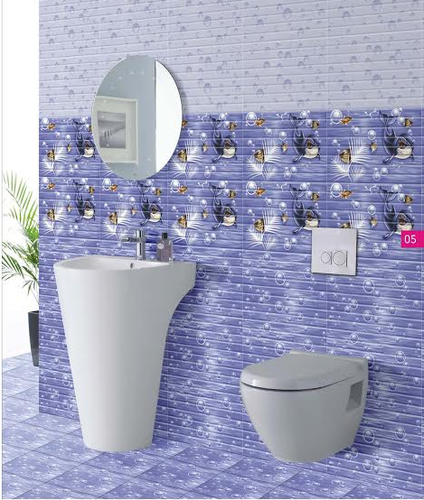 Bathroom Digital Wall Tiles