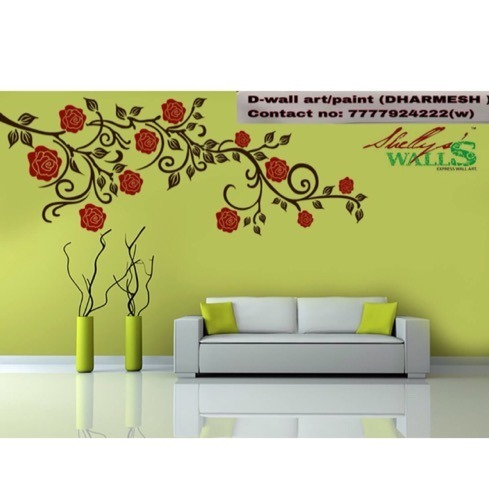 Wall Painting Fancy Wall Painting Services Surat Only Architect Interior Design Town Planner From Surat