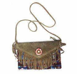 Kantha Embroidery Bag