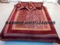 Velvet Bed Cover Embosse