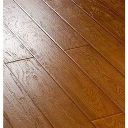 Golden Teak Wooden Flooring For Indoor