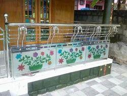 Designer Steel Railing