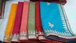 Cotton Supernet Gota Pati Saree