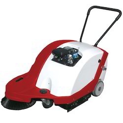 Vacuum Walk Behind Sweeper Machine