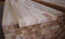 Solid Wood Finger Joint Rubber Board
