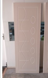 Ivory Solid PVC - WPC Doors, Size/Dimension: Up To 36 In Ch Width