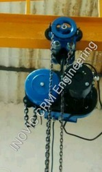 Electric Chain Hoist with Pull Push Trolley