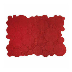 Red Shaped Carpets