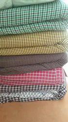 Multicolor Apron Check Fabric, Use: Garments