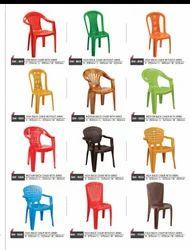 Swagath Yellow Plastice Chair