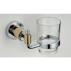 Ss, Glass Silver Tumbler Holder, For Home, Number Of Holder: 1