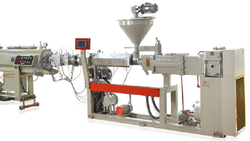 Twin Screw Pipe Making Machine
