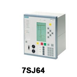 7SJ64 BCPU Protection Relay With Synchronization