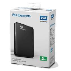 Wd 2tb Element External HDD