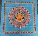Madhubani Painting Of The Sun