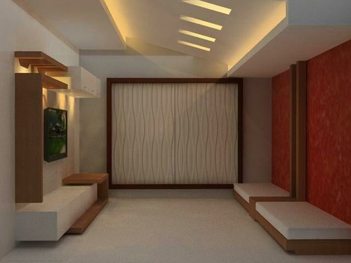 Living Hall TV Unit Design Service