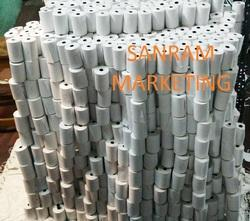 Plain Thermal Paper Rolls, Thickness: 55 - 90 GSM