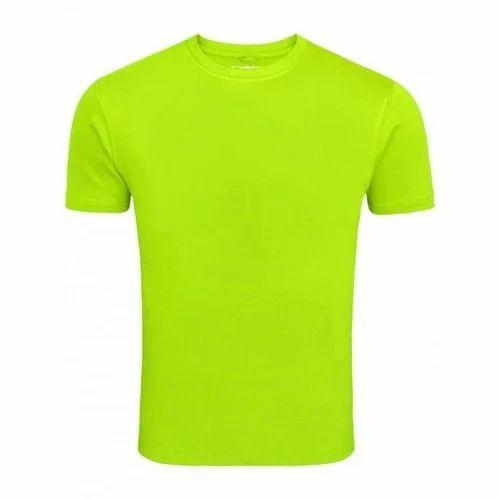 2efa74461b2 Small Cotton Round Neck Plain T Shirt