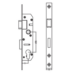 Narrow Stile Sash Lock