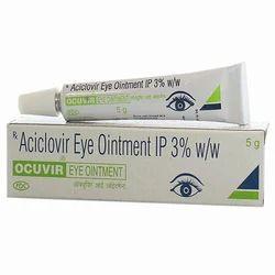 Ocuvir Aciclovir Eye Ointment Cream, Packing Size: 5 G