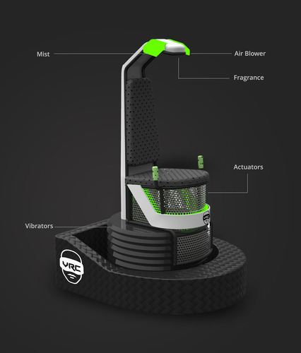 Virtual Reality 9D Simulator Chair