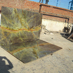 Forest Green Polished Marble Stone