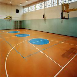 Synthetic Sports Flooring for Basketball Courts