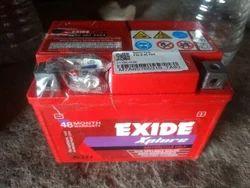 12 V XLTZ4 Exide Battery