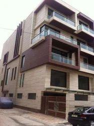 Residential Flat Exterior Designing Service