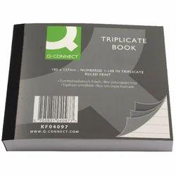 Triplicate Receipt Book