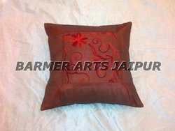 Woven Embroidery Cushion Cover